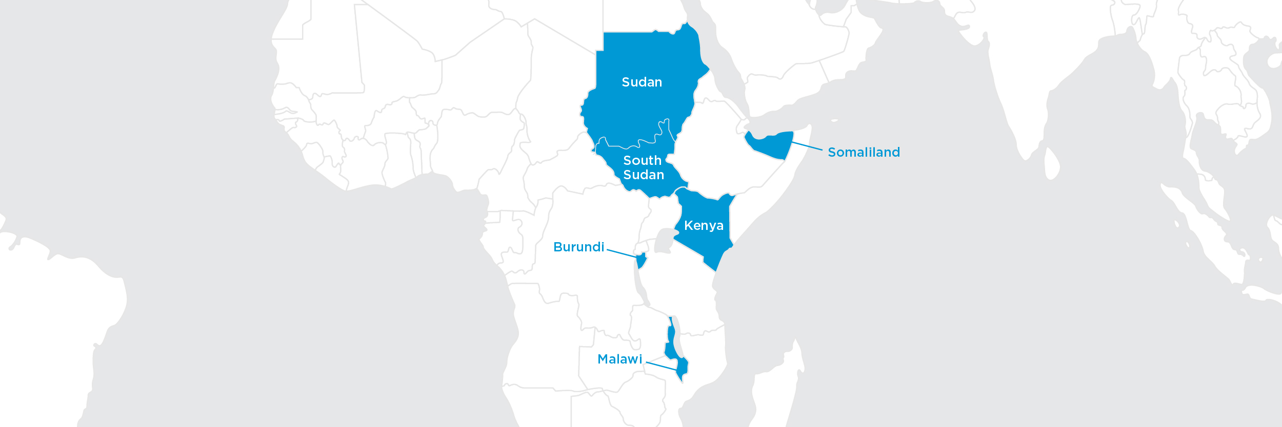 africa food crisis map - relief program