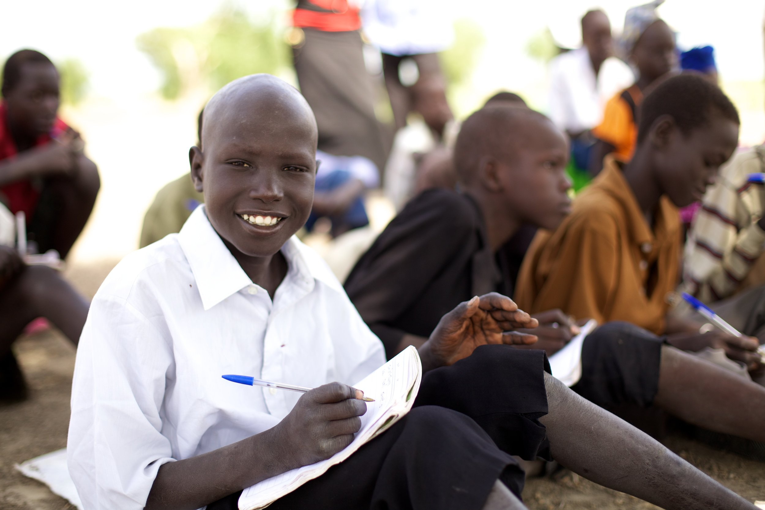 $35  // Send a refugee child in South Sudan to school.