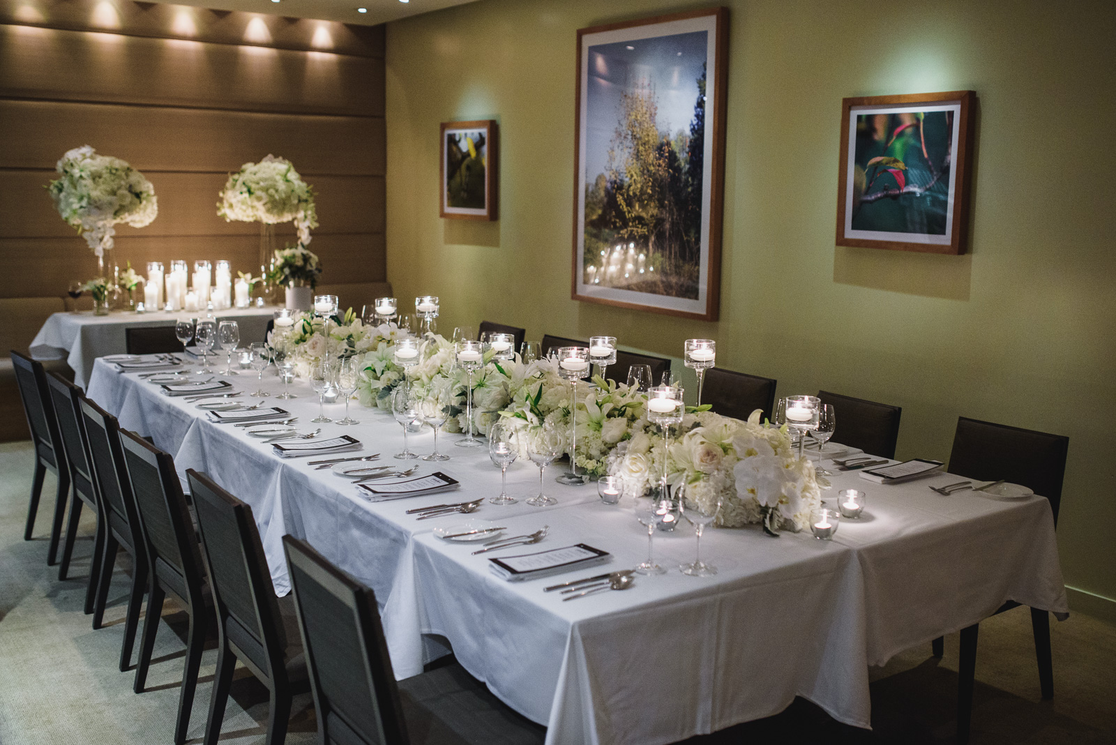 wedding reception at the Pear Tree Restaurant in Burnaby BC - Vancouver Island Wedding Photographer