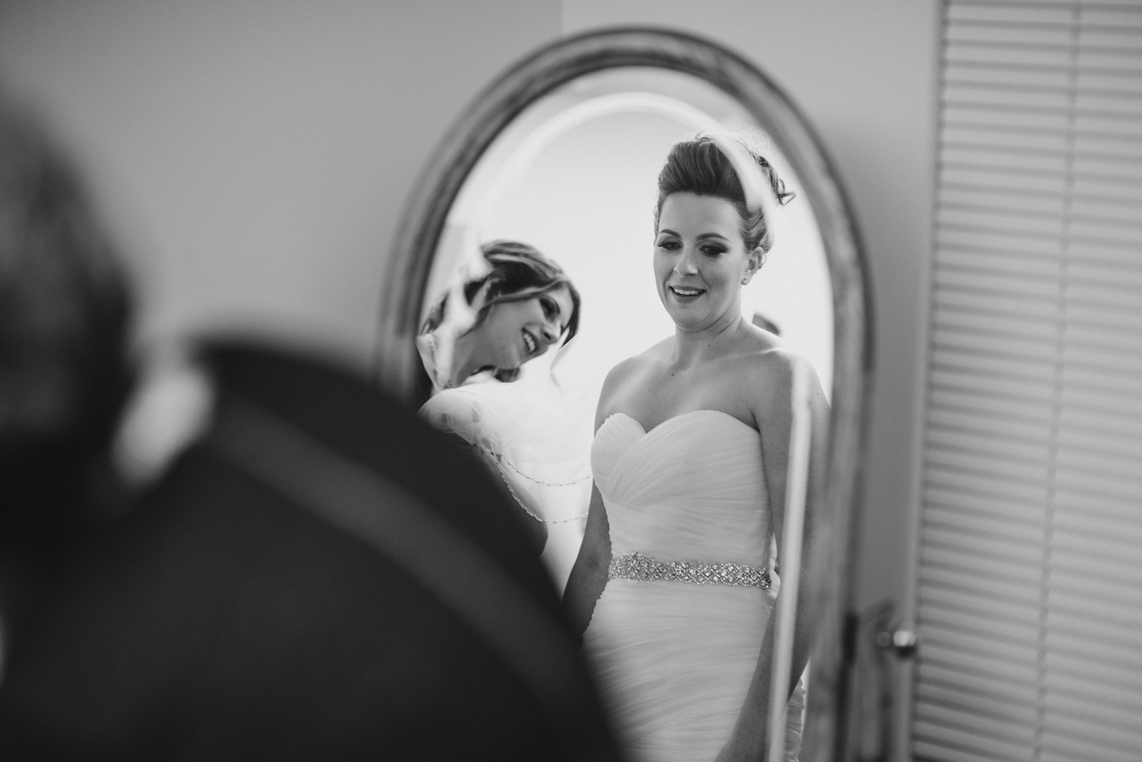 bride getting ready for her wedding at Whonnock Lake Centre in Maple Ridge - Victoria Wedding Photographers