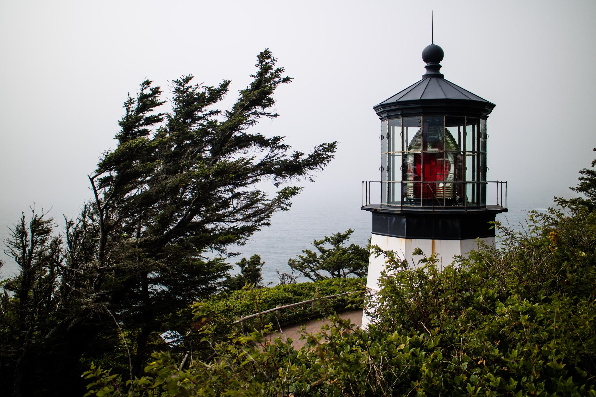 Cape Meares Lighthouse.