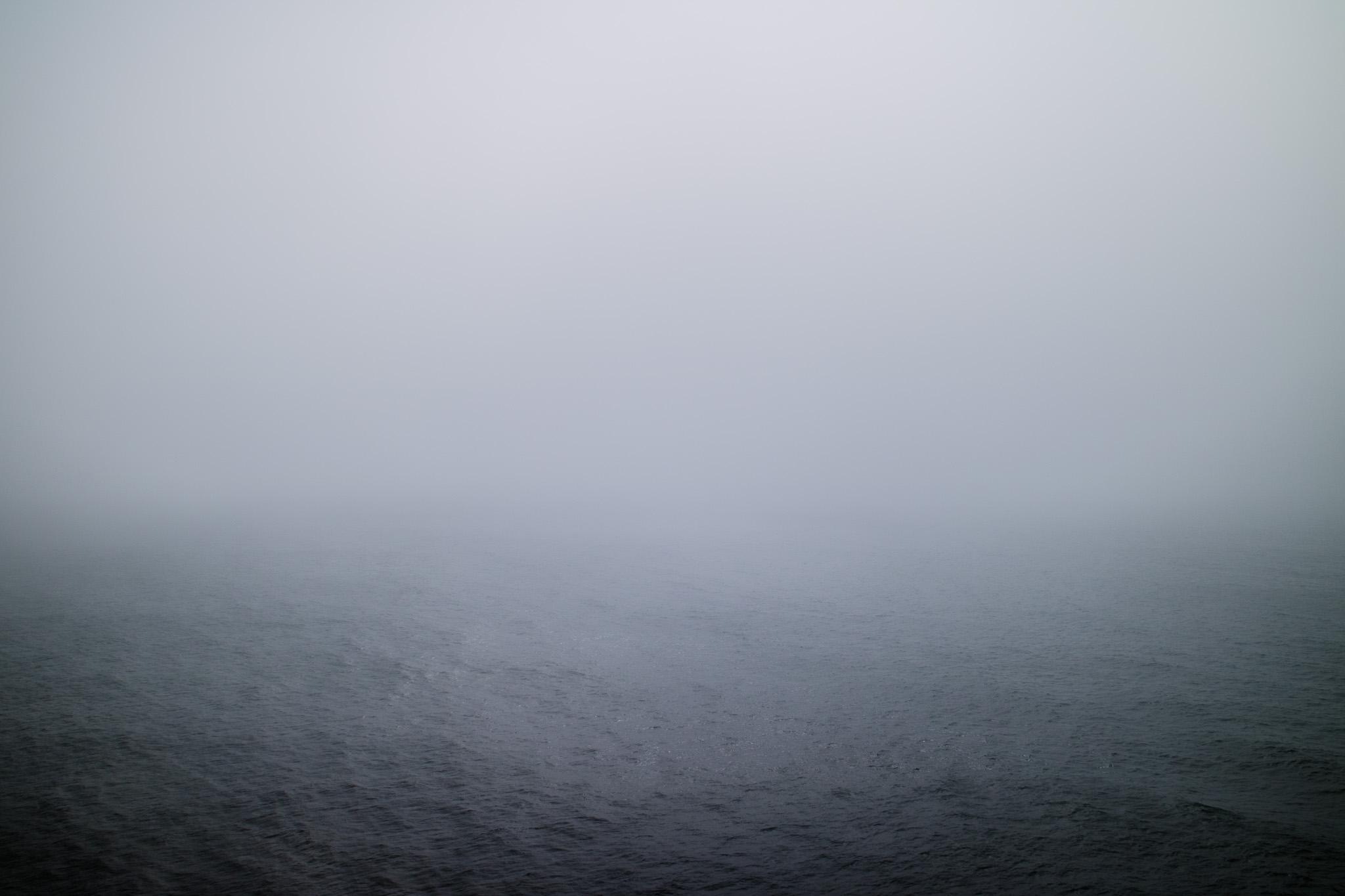 Fog for days.