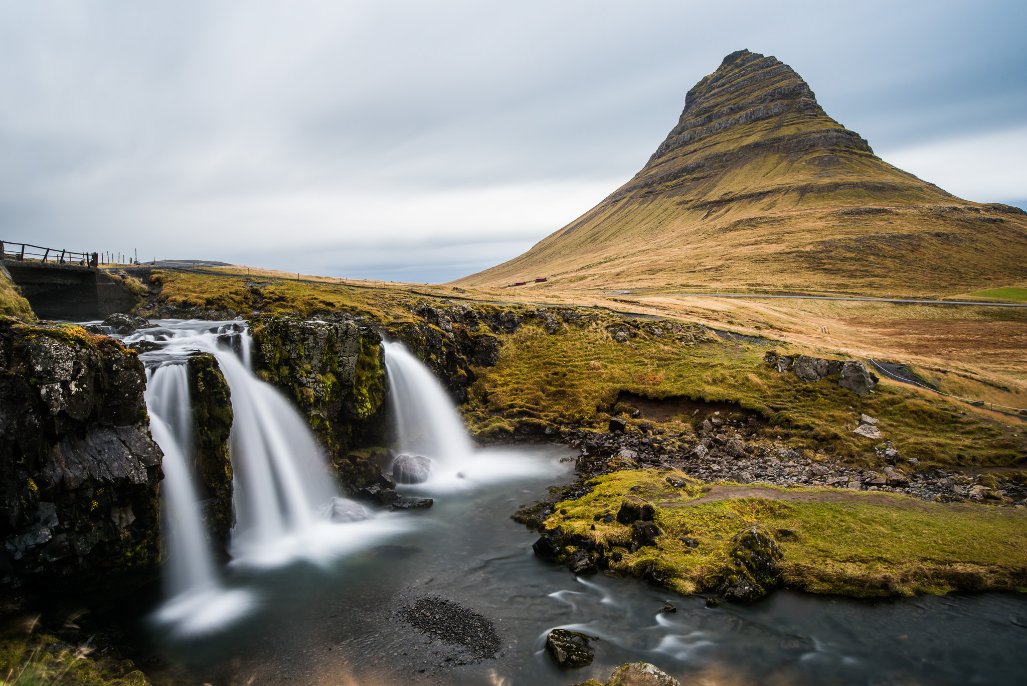 The very famous, very photogenic Kirkjufell.