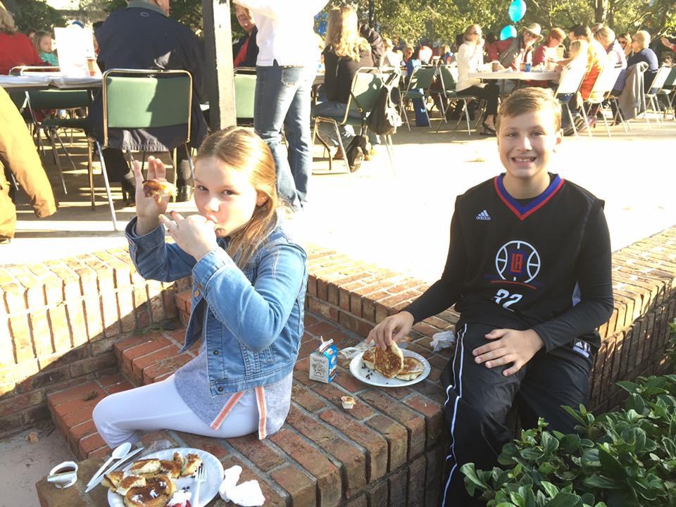 Annual Leadership Pancake Breakfast in the Park
