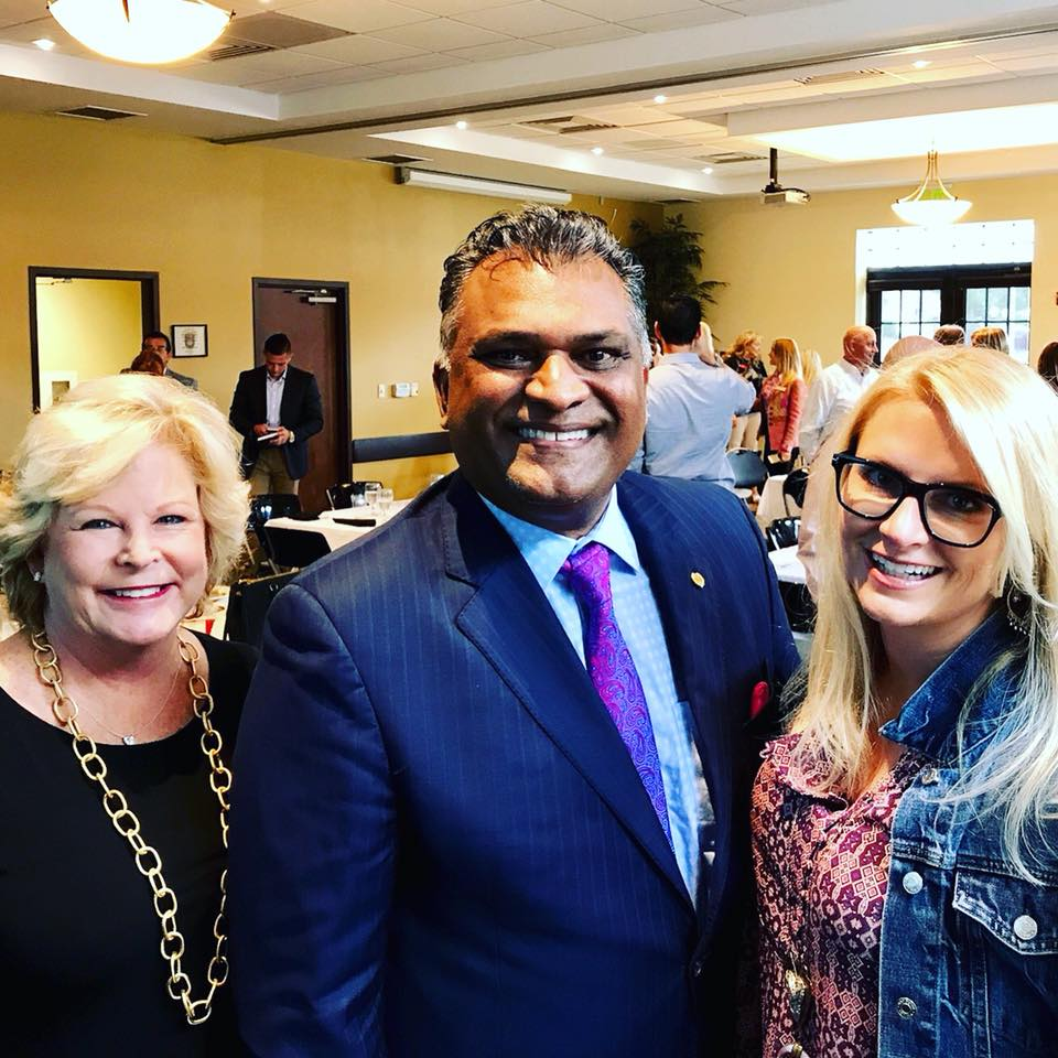 Jenni Sloan & Pam Ryan attended Orange County Property Appraiser, Rich Singh's presentation of the trends and huge growth in luxury housing market in Orange County and Winter Park.