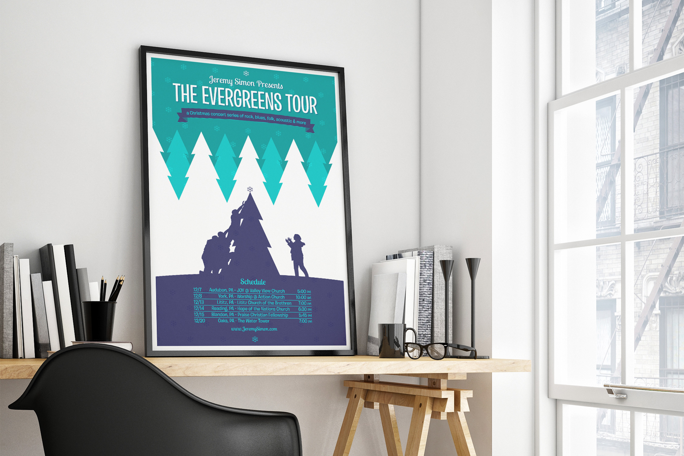 Holiday Tour Poster