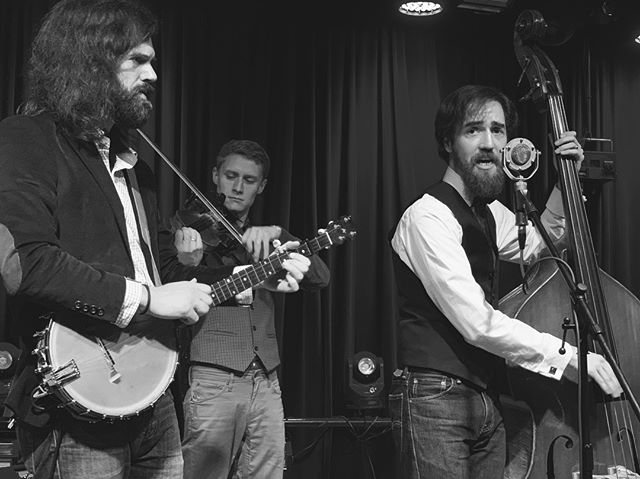 Catch these fellas at @holsopplebrewing on Saturday for their 2 year anniversary celebration 🎂. Bluegrass, brews, and burgers — what more could you need on a Kentucky Saturday? We play from 7-10pm!