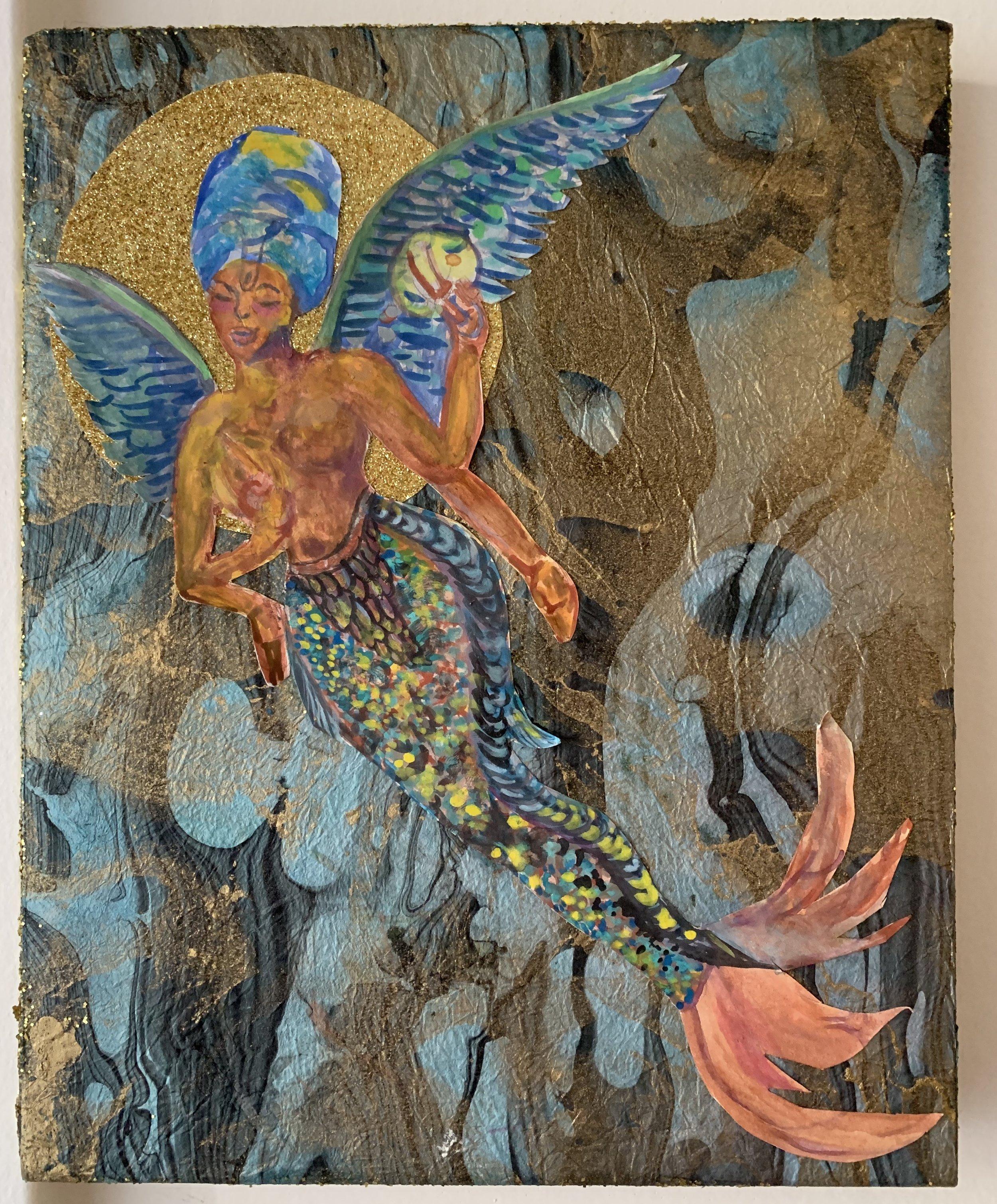 Spiritual Mermaid - (by Marlena) created in 2014