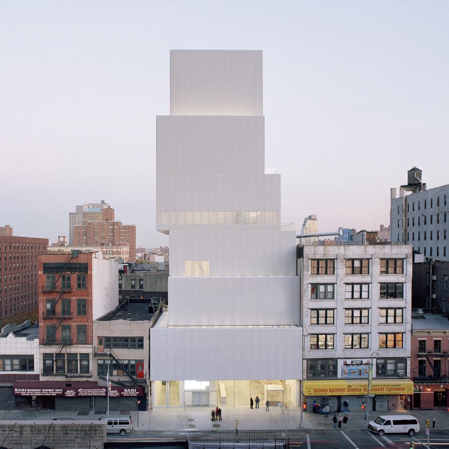 New Museum New York_SANAA