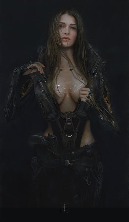 Sci-fi woman