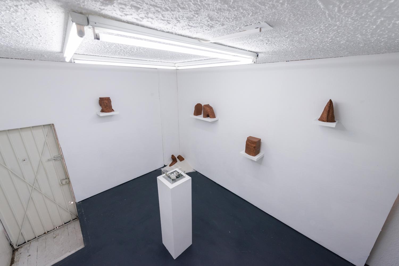 Vista de exposición de 'Prologue: Digital Cenotaphs'