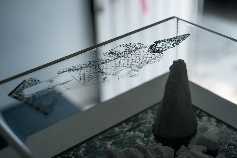 Detalle de 'Prologue: Digital Cenotaphs'