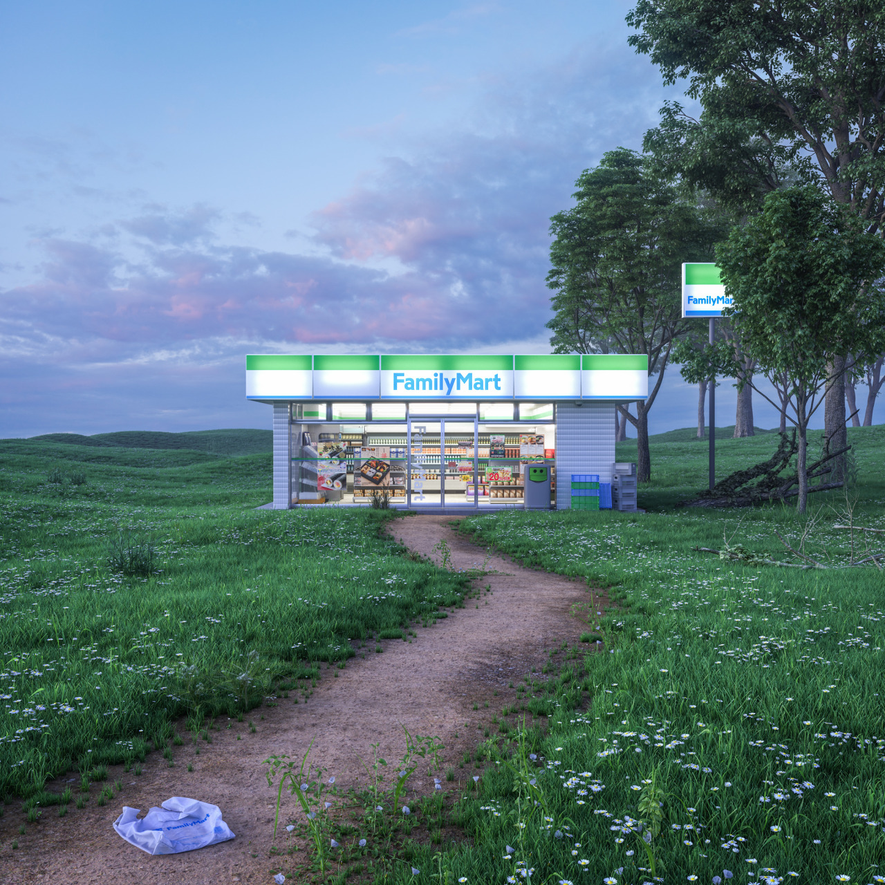 Family Mart_Kim Laughton