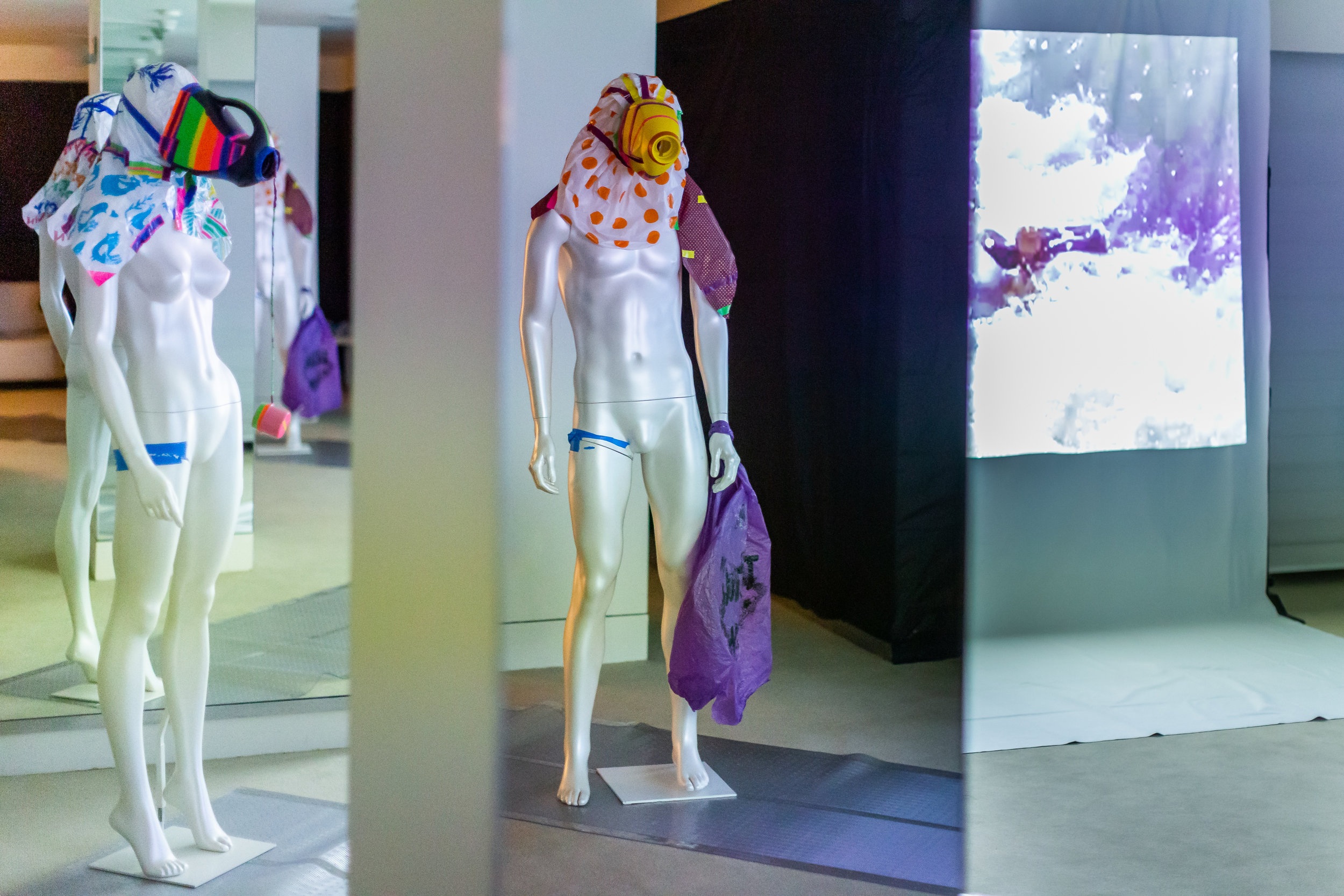 Cheryl Donegan, MODEL! PLEASURE! ARTIST! ALIVE! curated by Francesco Urbano Ragazzi, exhibition view.