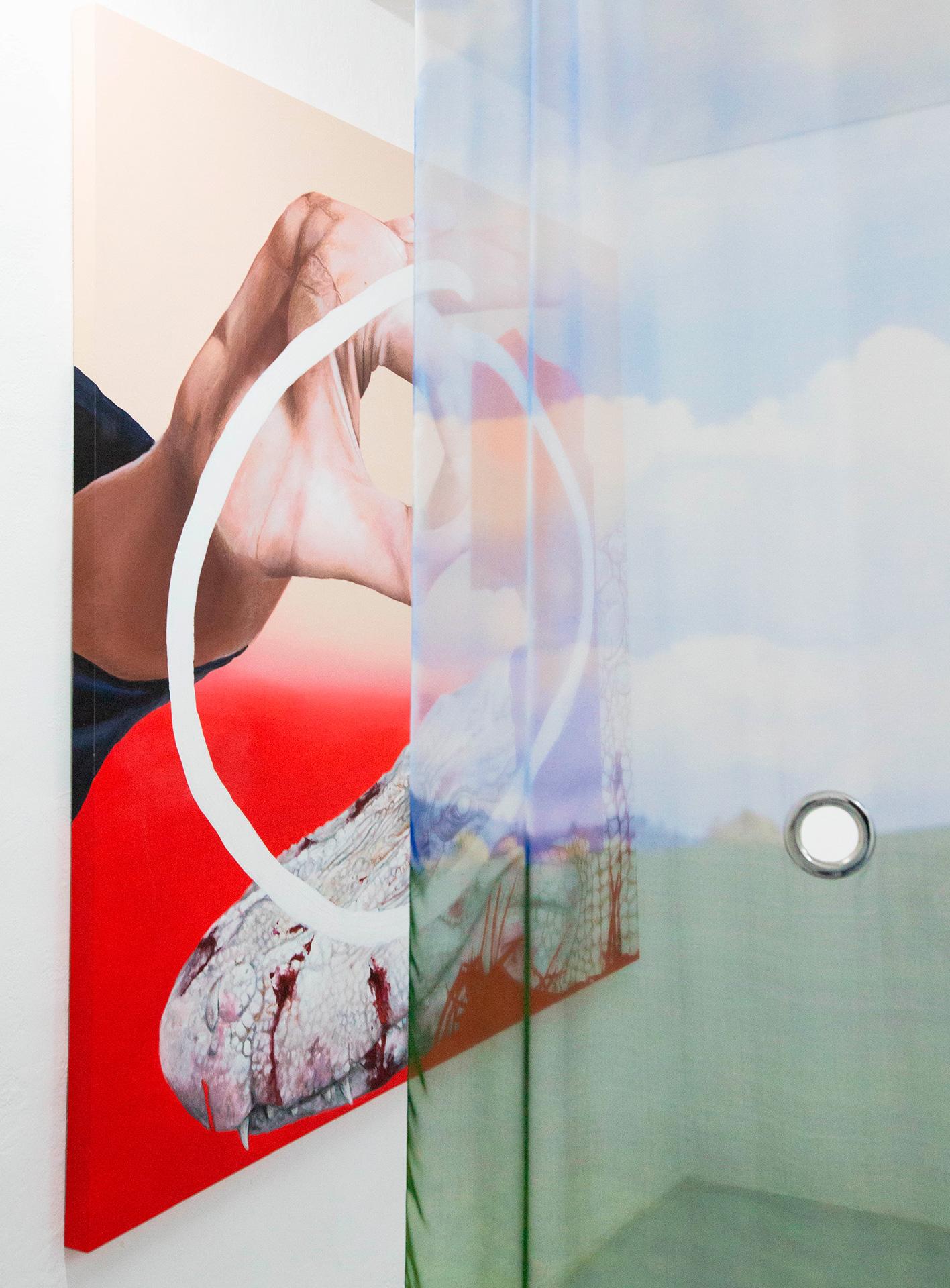 15 Andrea Martinucci - Glory Black Hole, exhibition view, Dimora Artica (ph Andrea Cenetiempo).jpg