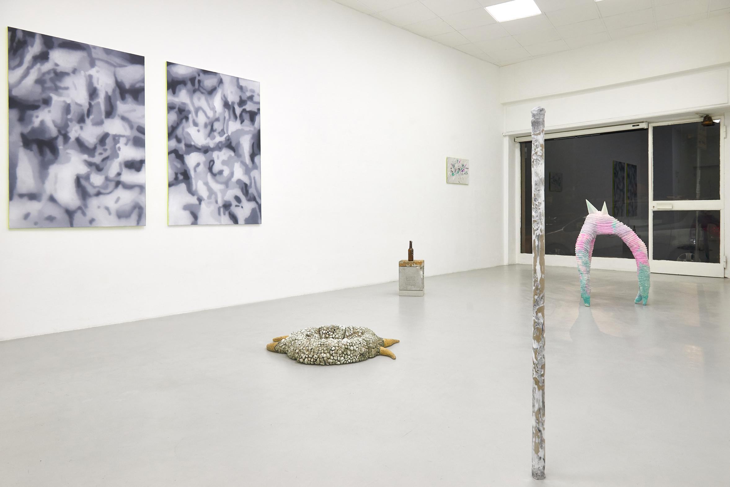 2 Screen Tearing. Exhibition view. Dimora Artica (ph Michele Fanucci).jpg