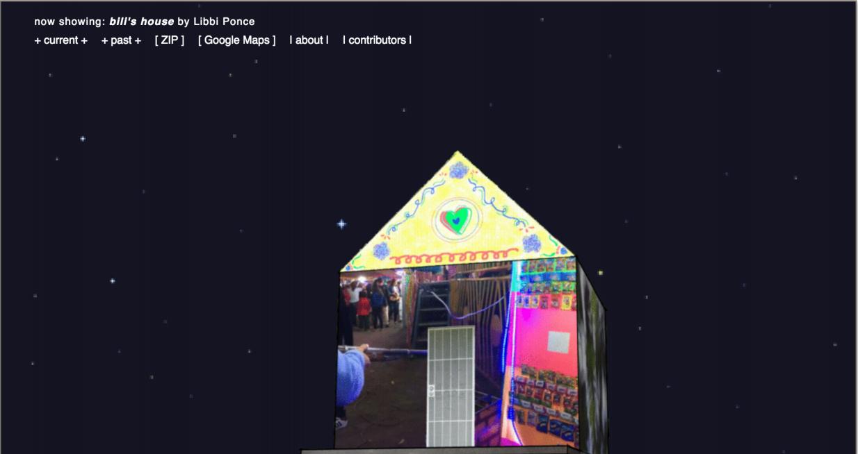 Figura 2   Off Site Project  página de inicio..