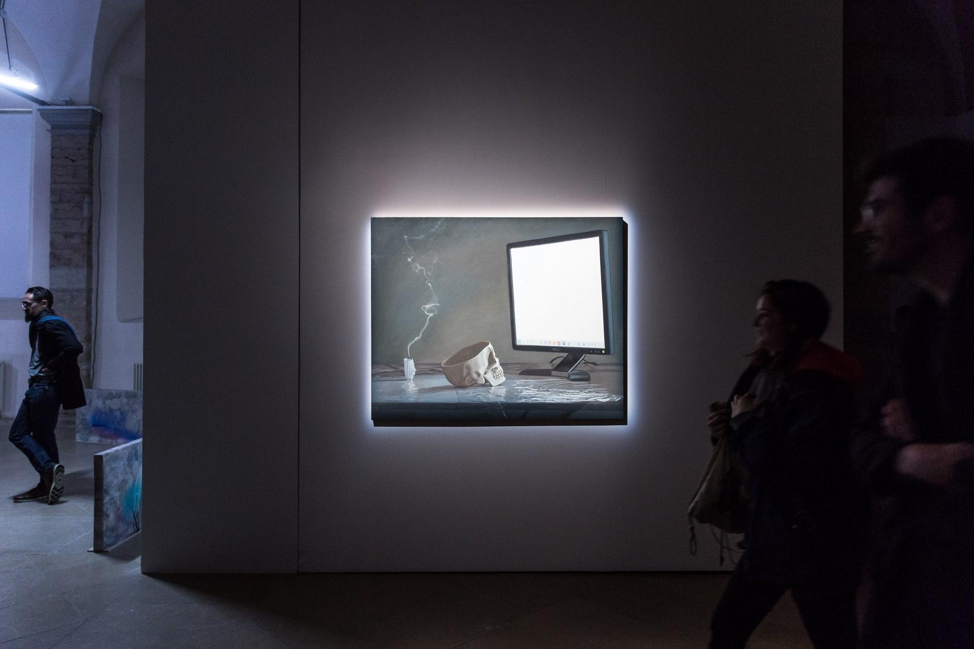 "Julien Boily  Memento vastum 2012 Óleo sobre tabla, 122 x 152 cm (48 ""x 60"")"