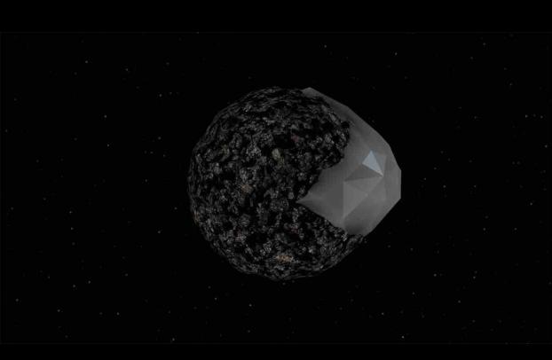 Julie Tremble   BPM 37093  2014  3D animation (mute), 1 min. 14 sec. (loop): flat screen