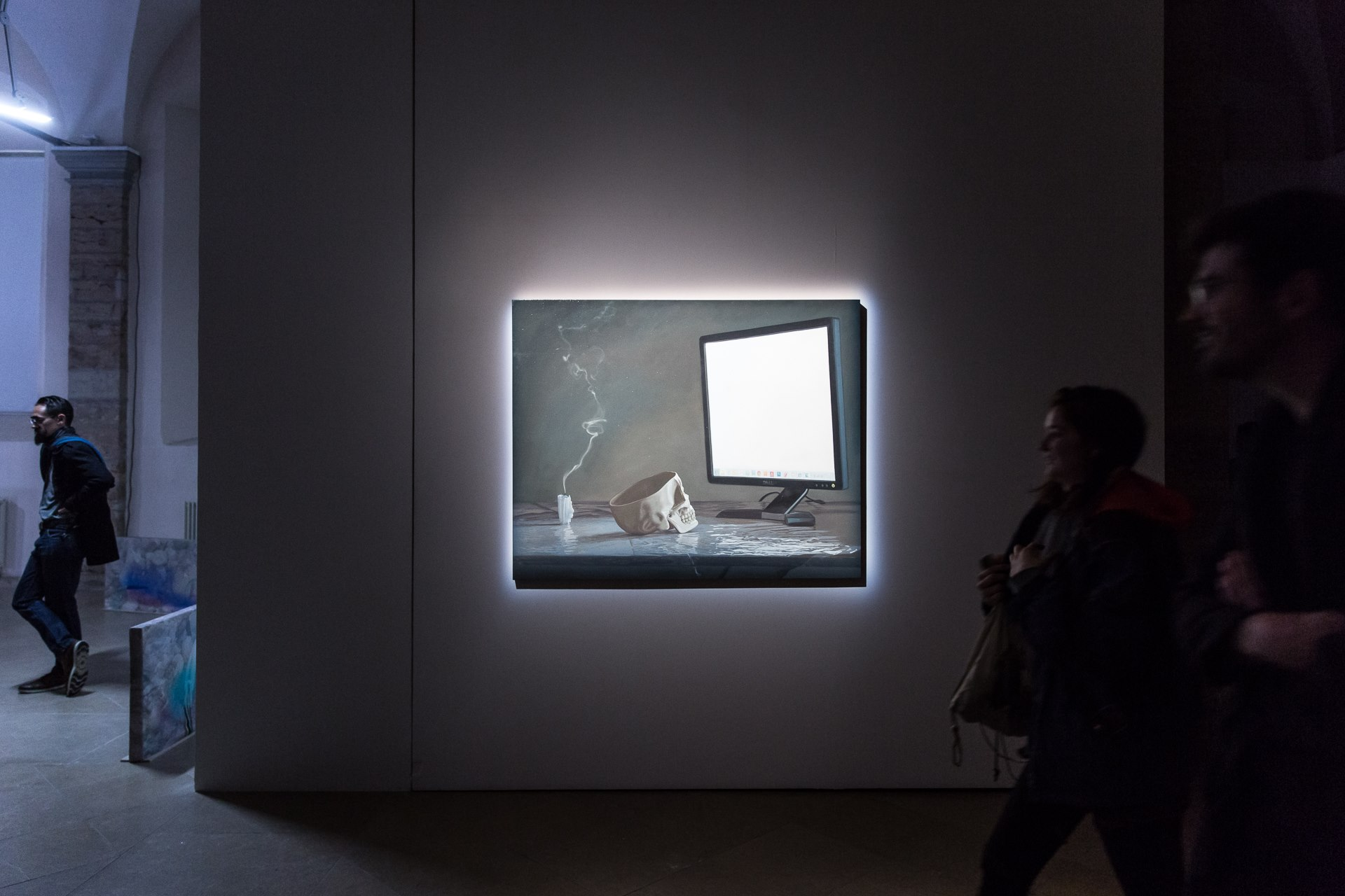 "Julien Boily   Memento Vastum  2012  Oil on board, 122 x 152 cm (48"" x 60"")"