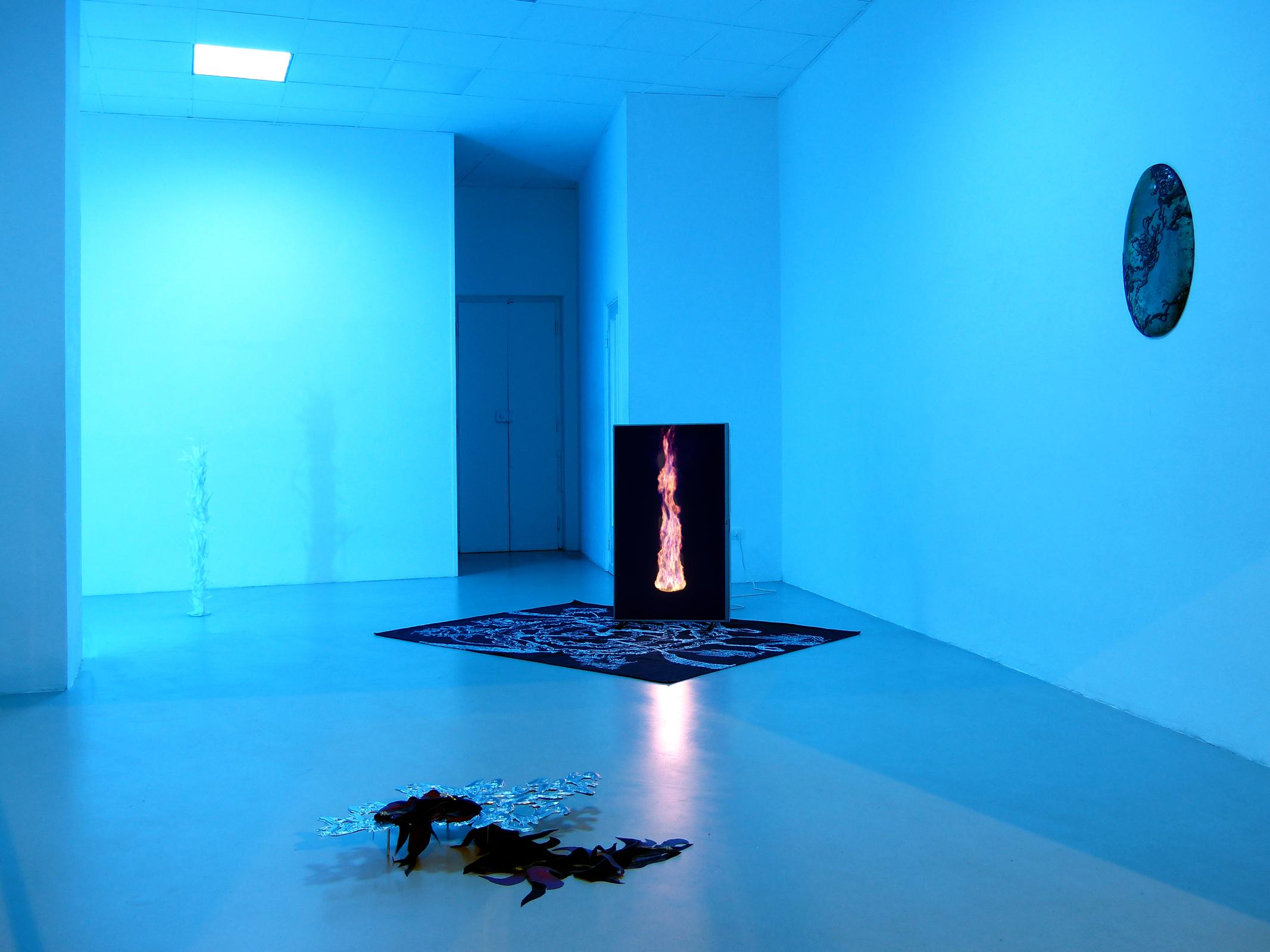 1 Paolo Brambilla - Fiordiluna, exhibition view, Dimora Artica.JPG