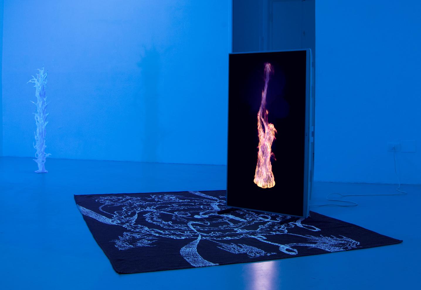 5 Paolo Brambilla - Fiordiluna, exhibition view, Dimora Artica.jpg