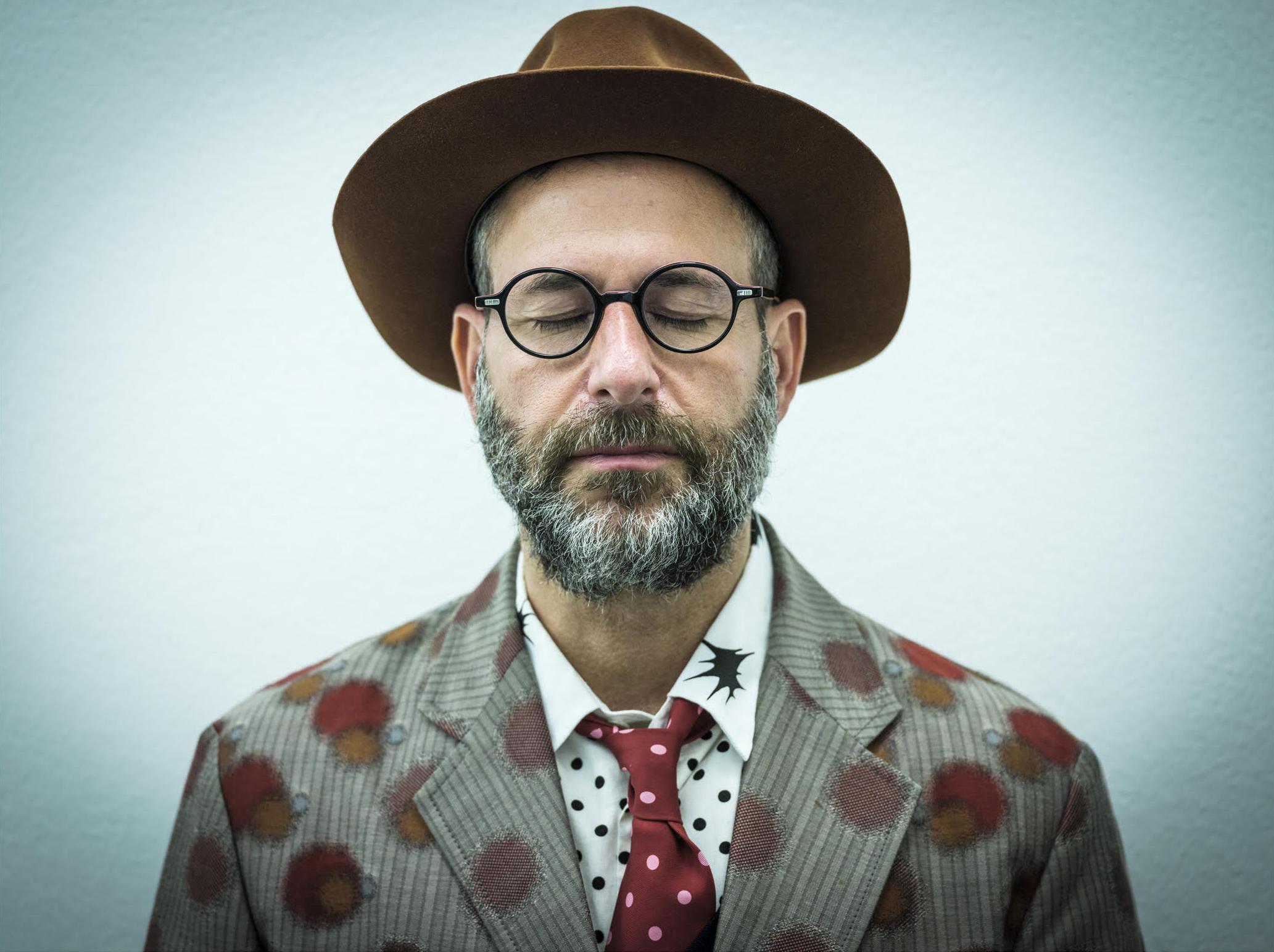 Kenneth Goldsmith. Portrait © Jerónimo Álvarez.