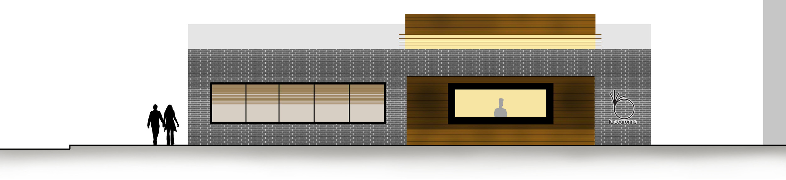 South Elevation (Rendered)