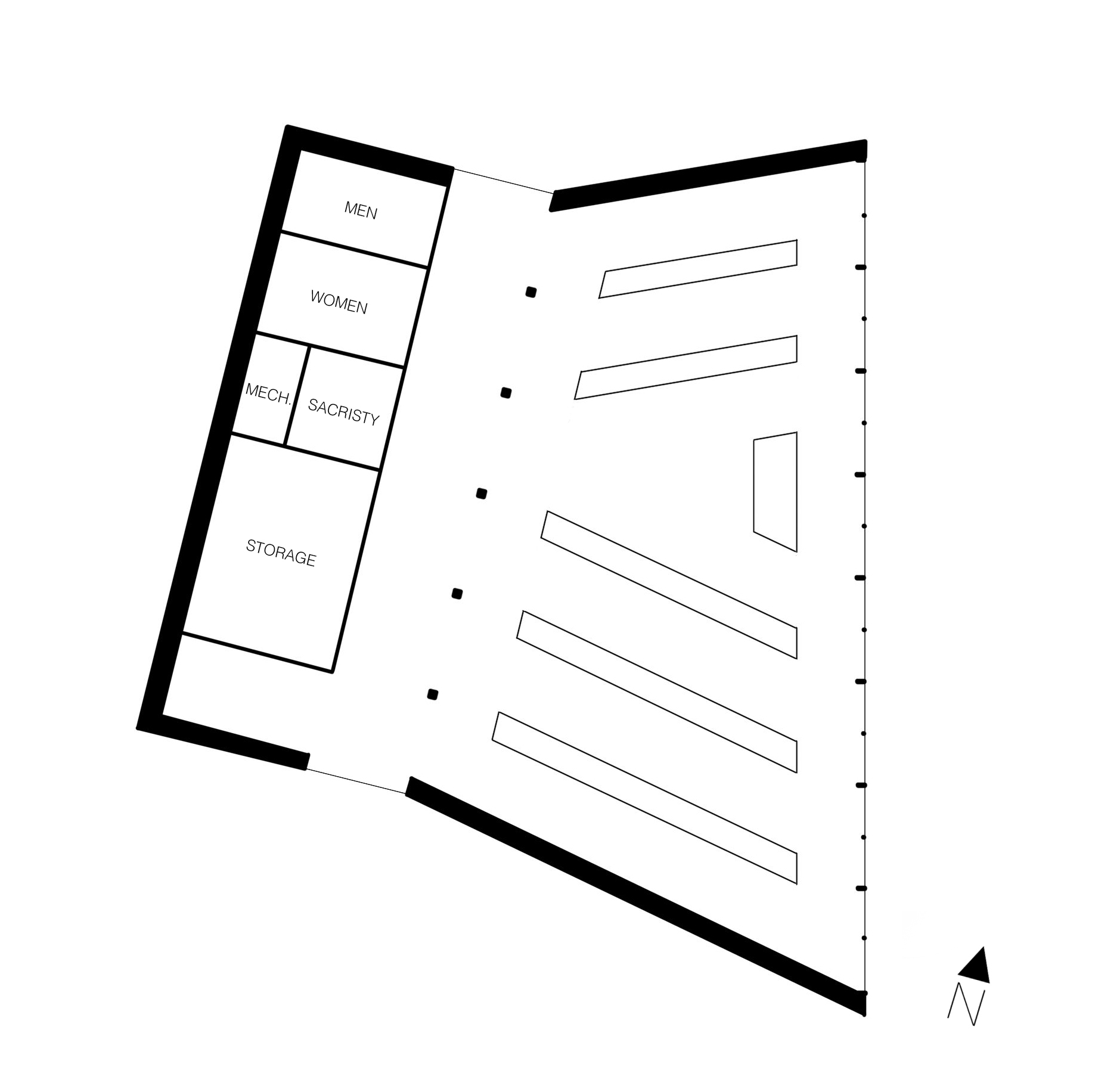 Diagrammatic Floor Plan