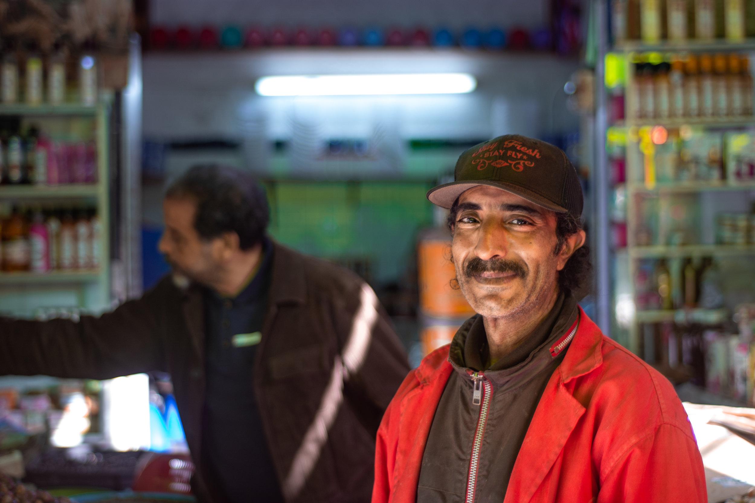 Abdullah, a vendor and native Casaoui