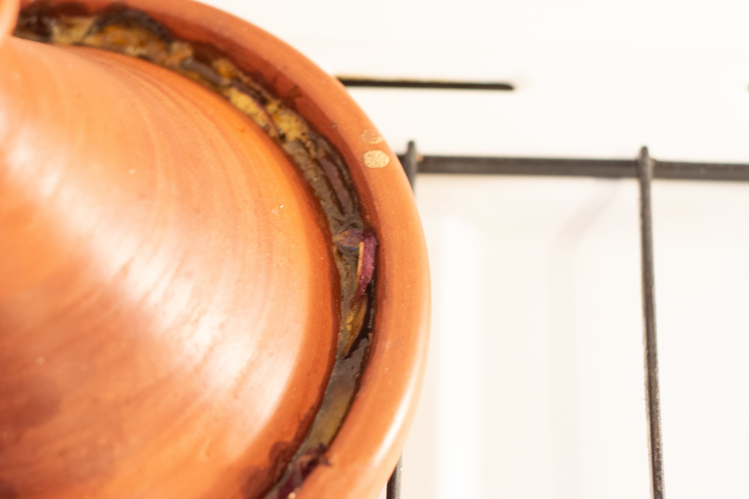 The tagine, an essential vessel of traditional Moroccan cuisine.