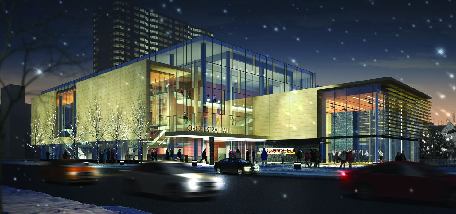 Orchestra Hall- a wonderful wedding venue!