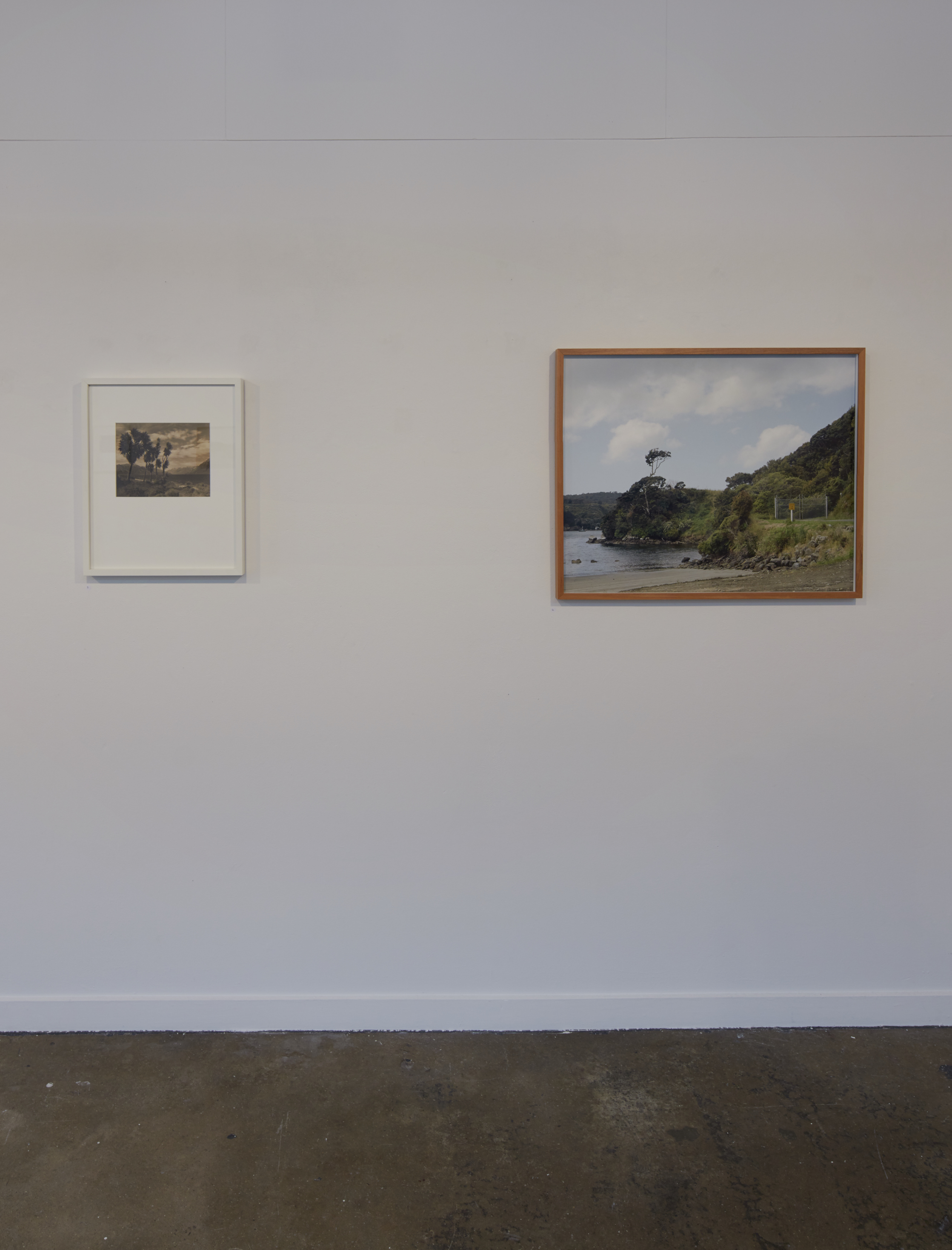 Contemplations of Place: Eight Decades On  George Chance & Anton Maurer  curated by Paul McNamara Depot Artspace, 2016