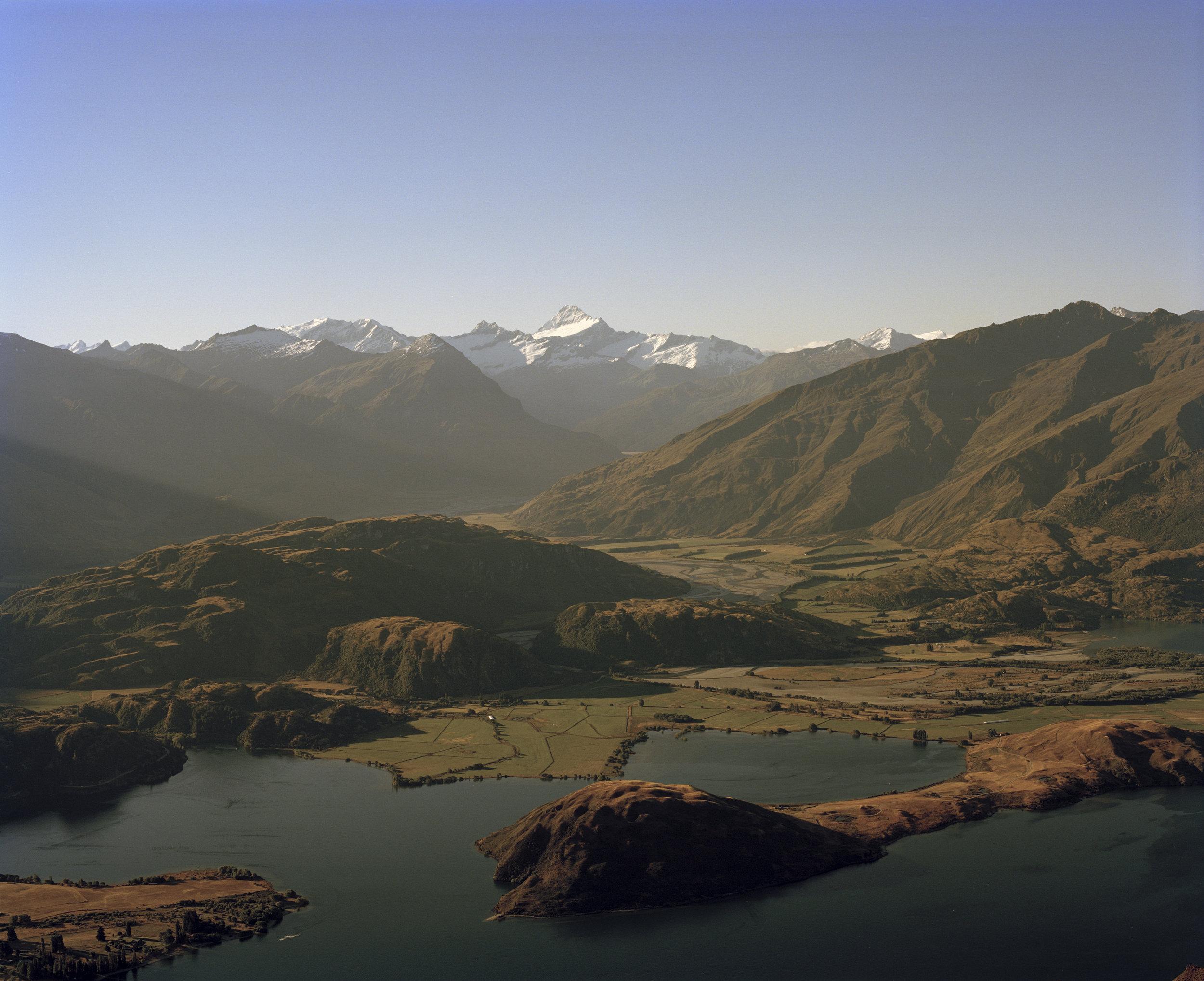 Looking to Paddock Bay & Te Wahipounamu World Heritage Area, 2015