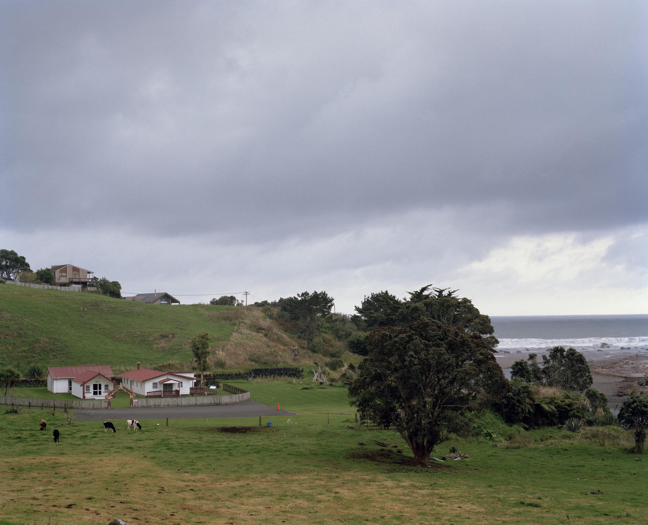 Oākura Pā - Okorotua Marae, 2013
