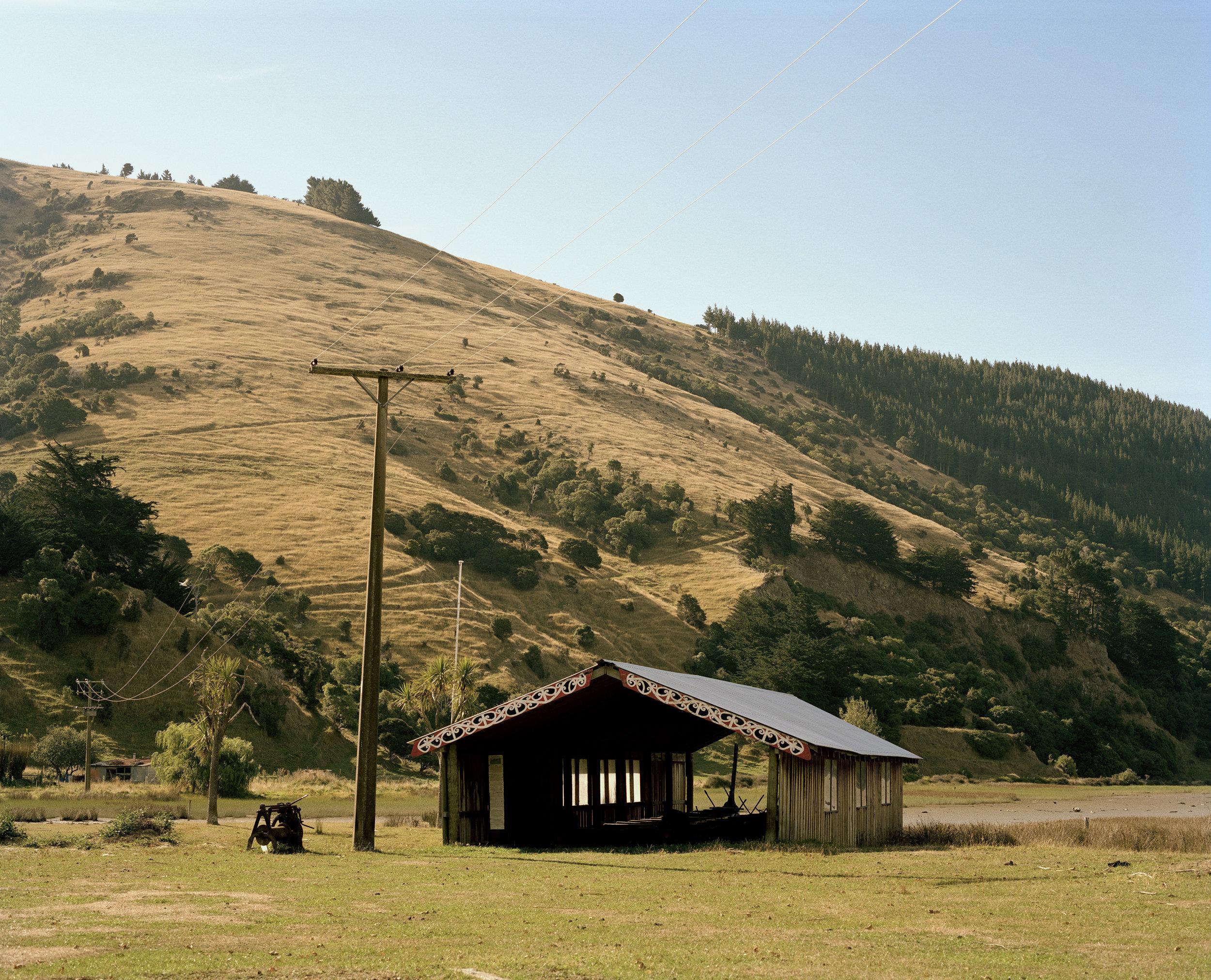 Waka Shed, Okains Bay, 2015