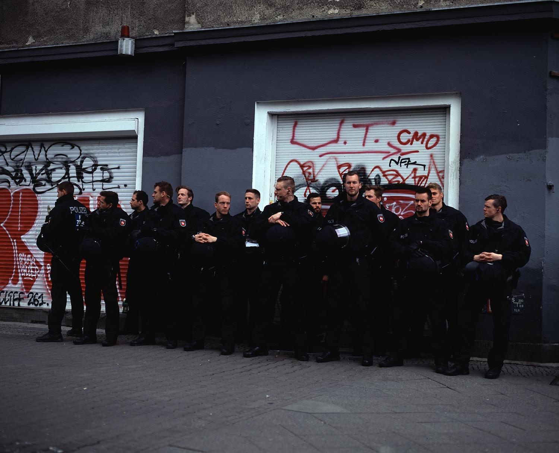 Polizei, May Day, Kreuzberg I