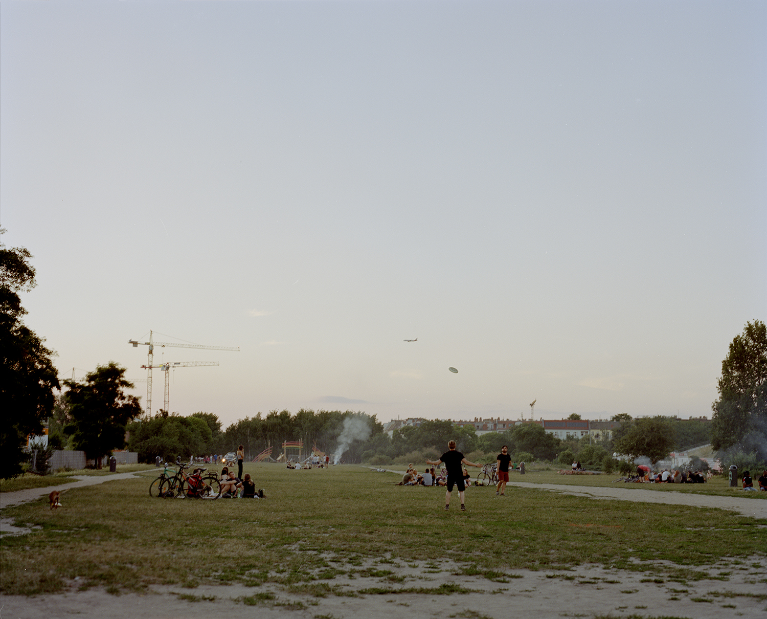 Mauer Park (Looking north)