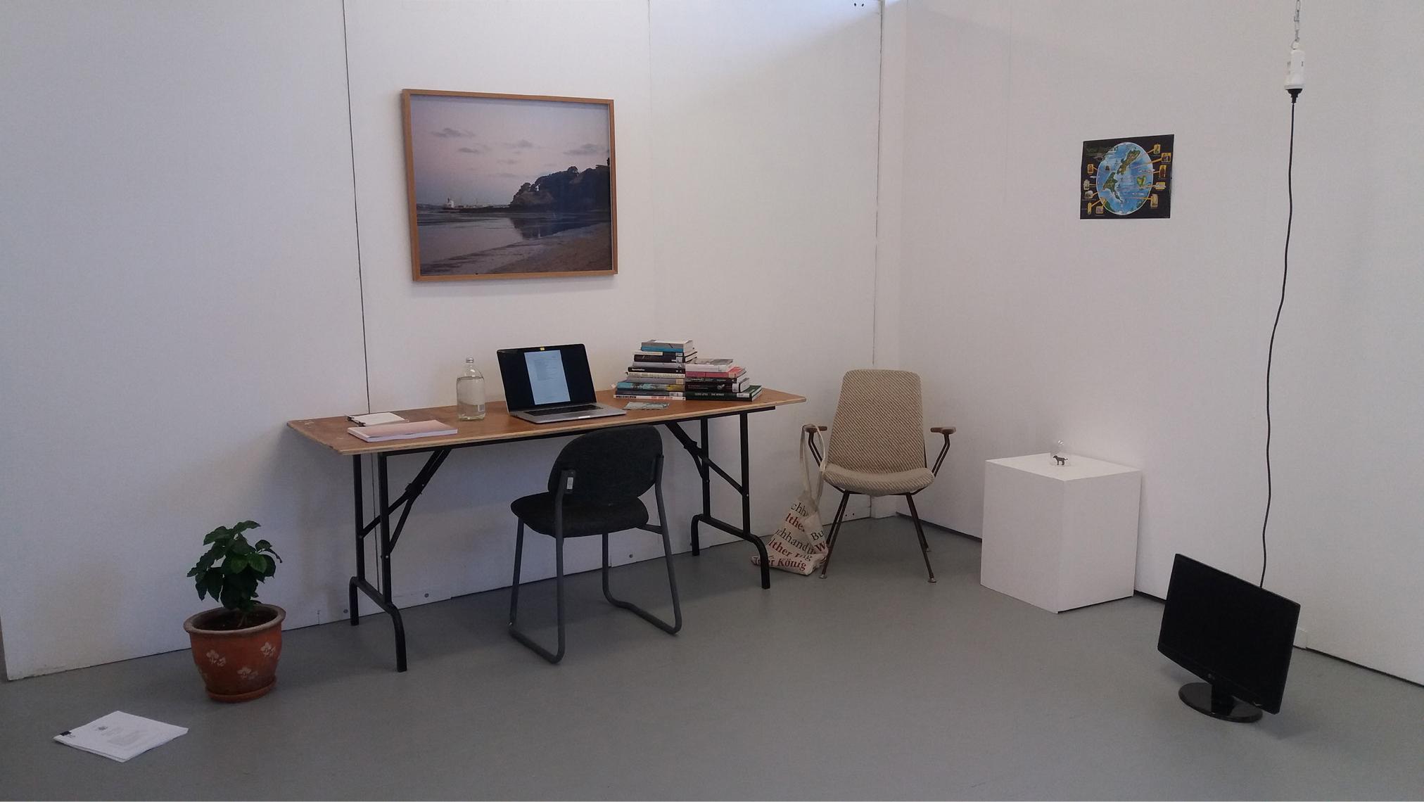 Auckland Art Fair Vip Studio Visit Installation  Elam B