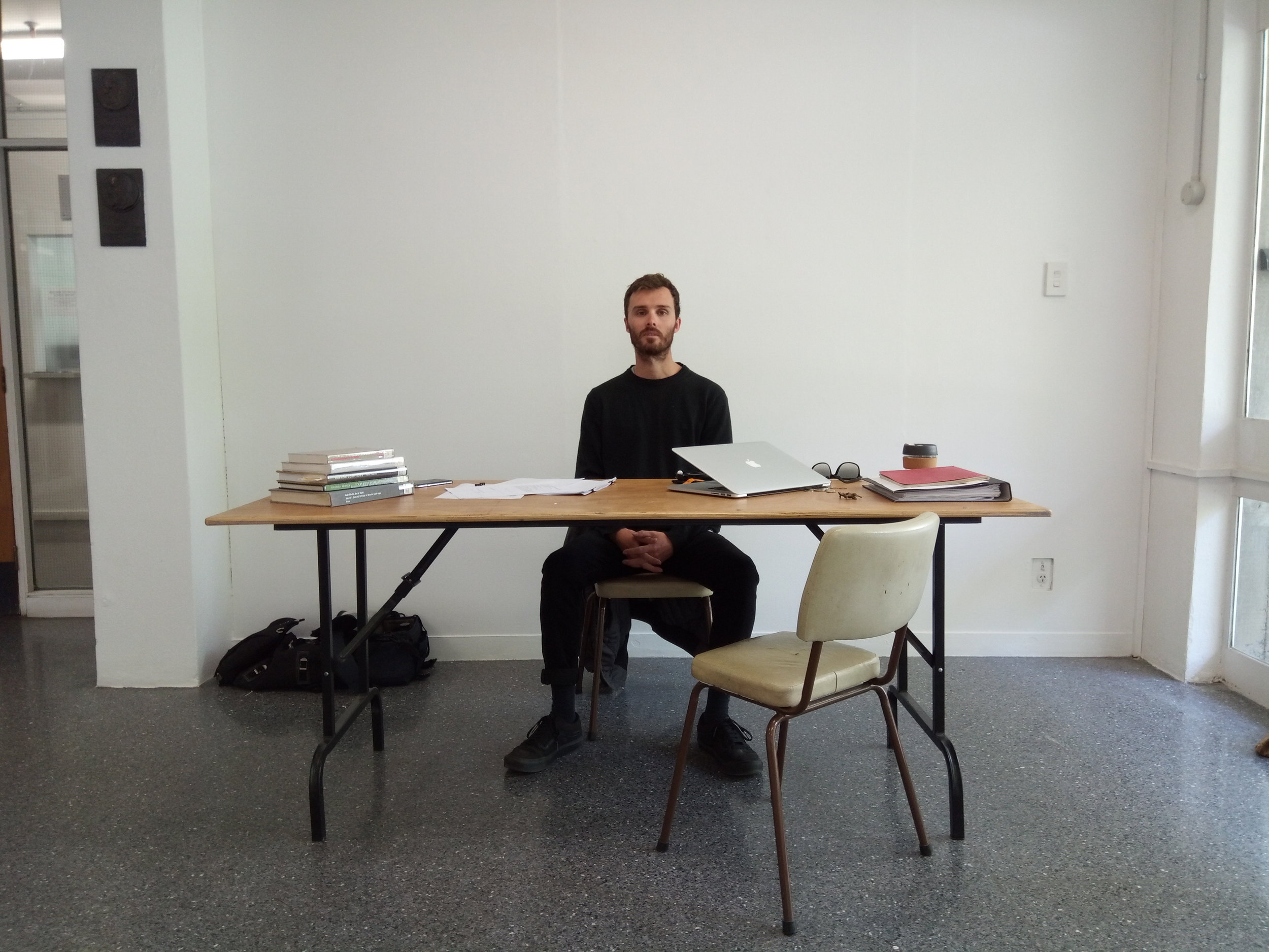 Durational Performance Office hours Monday 29th October - Monday 5th November Foyer, Elam School of Fine Art