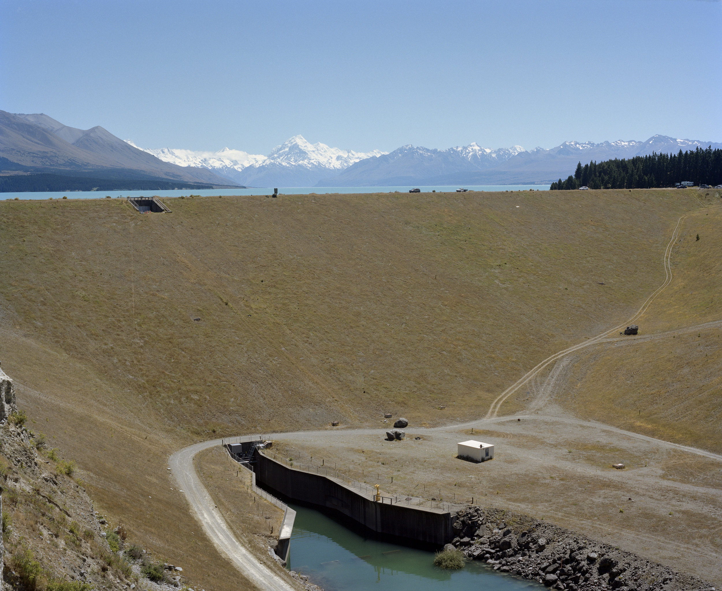 Waitaki Hydroelectric Scheme, Mackenzie Basin, 2013