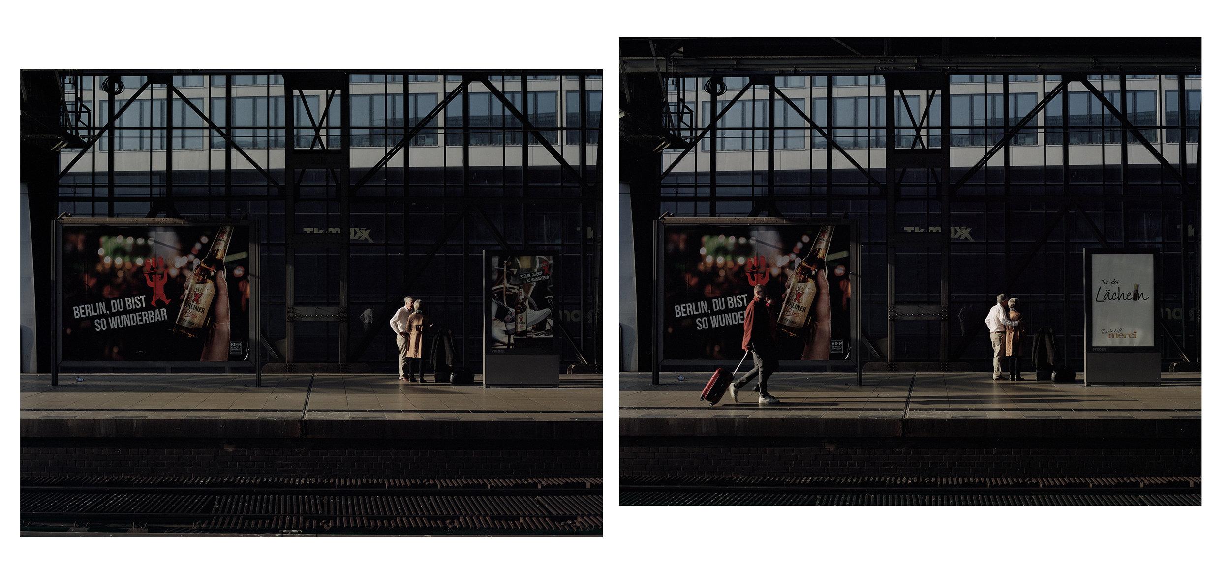 Alexanderplatz Bahnhof (Diptych)