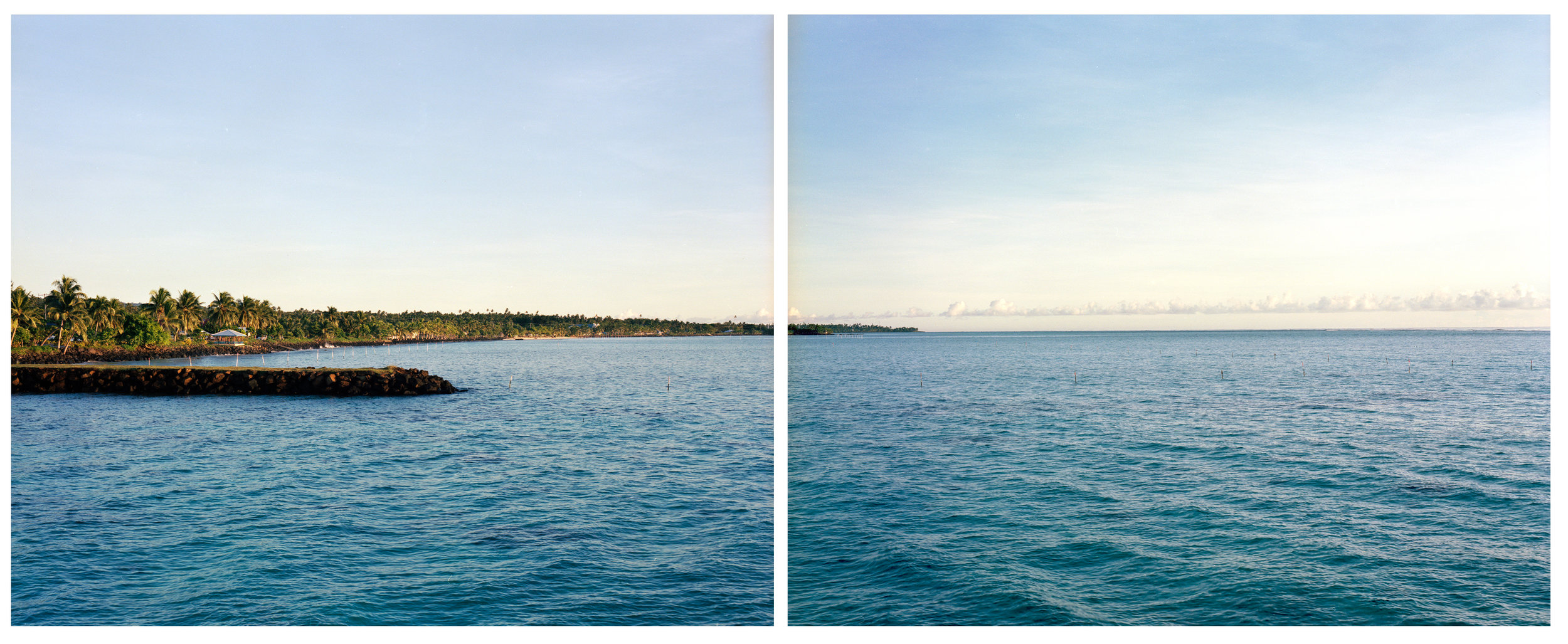 Looking to Tokelau, from Savai'i