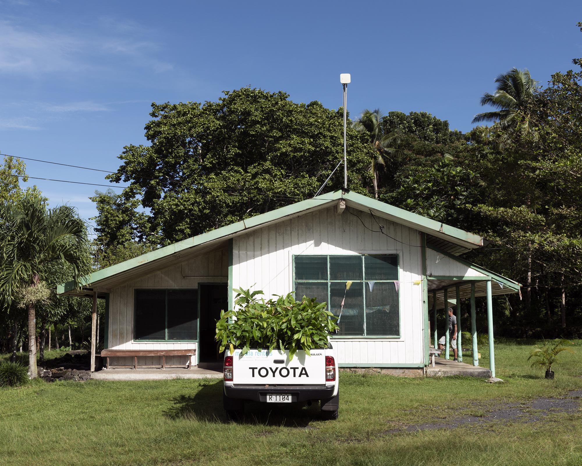 Proposed nursery site, Savai'i