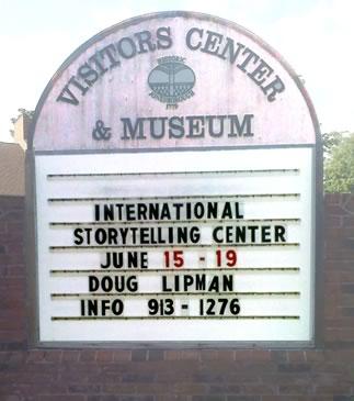 Doug Lipman, Teller in Residence, National Storytelling Center