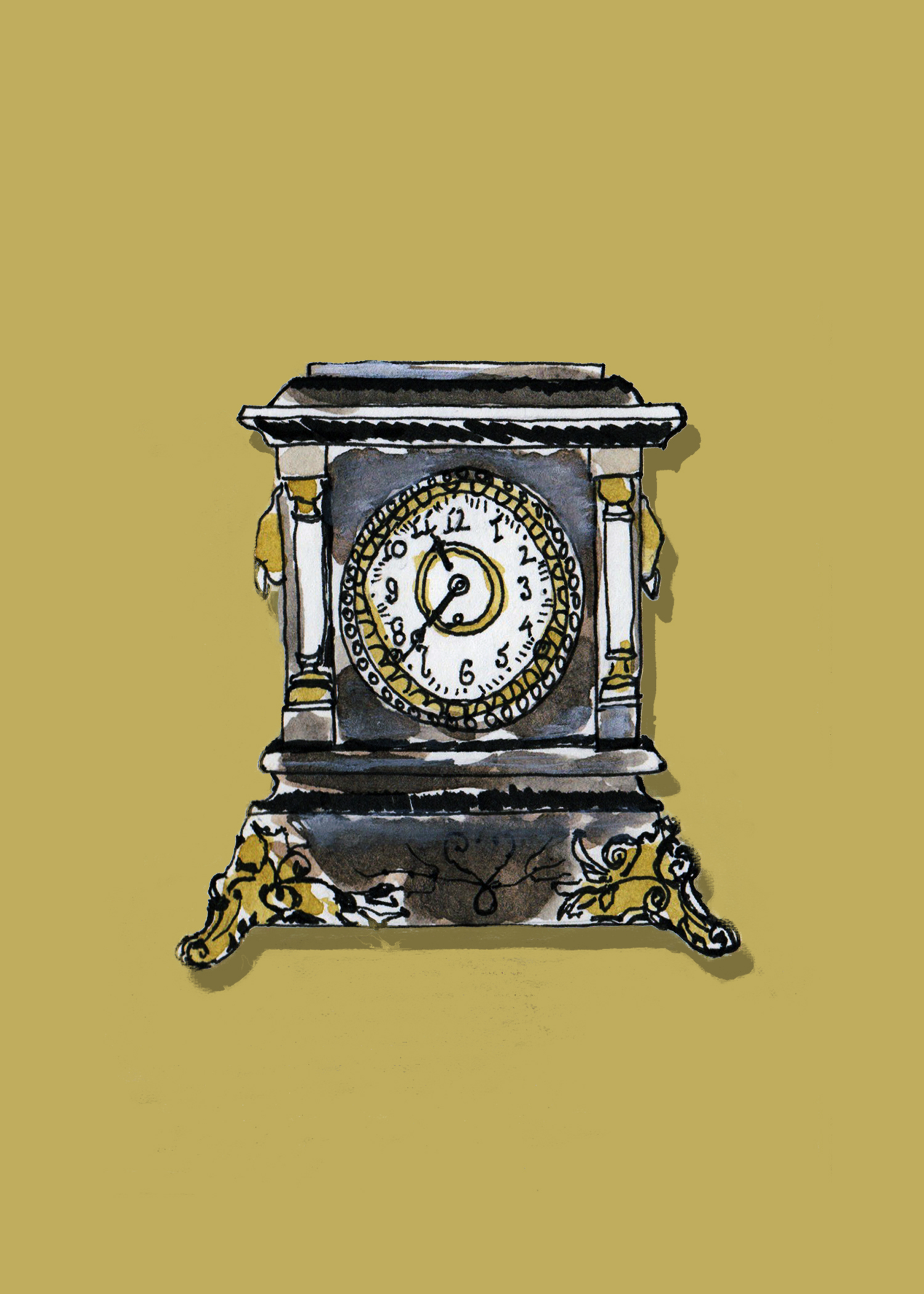 Portrait of a Black Clock