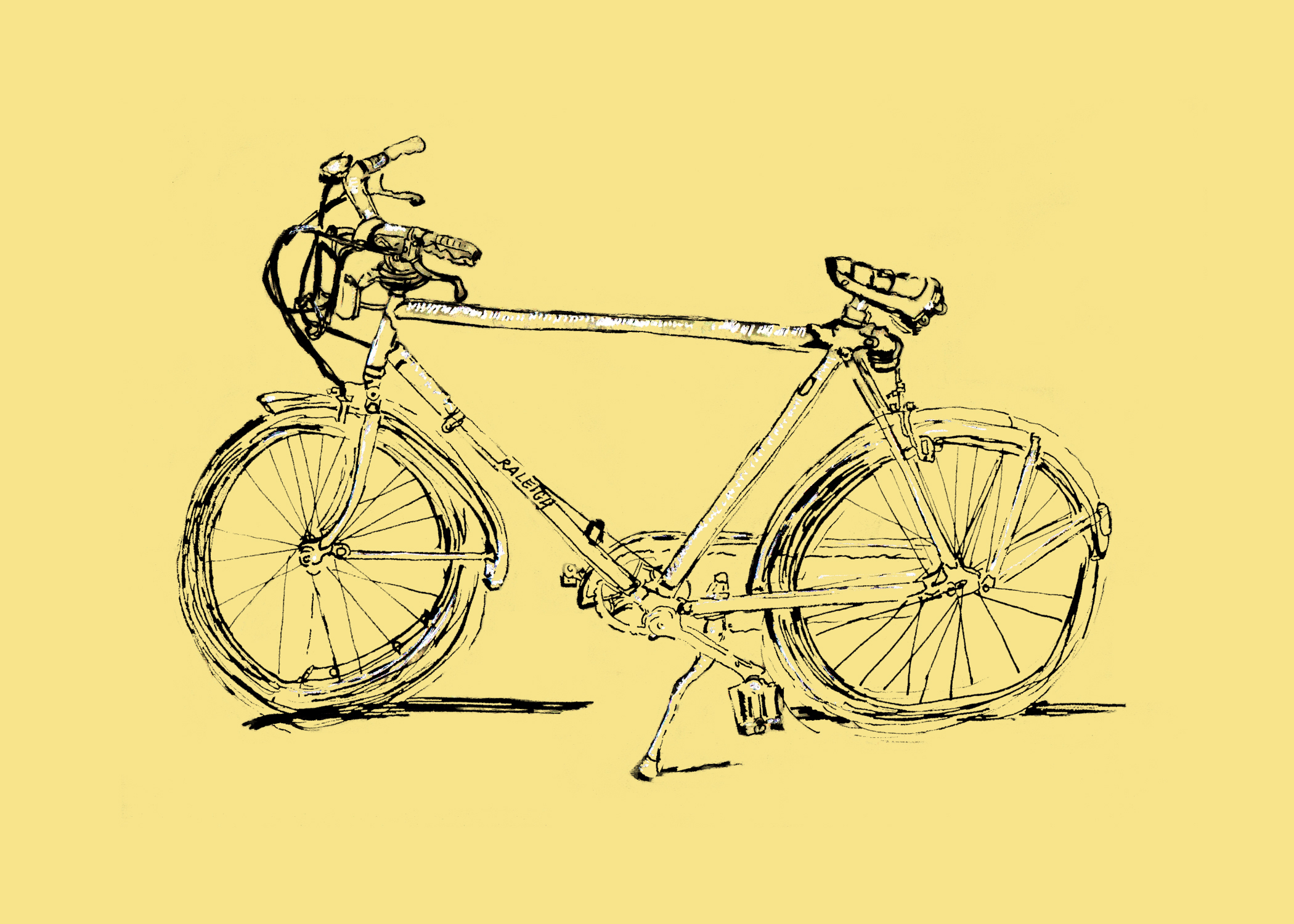Portrait of a Bike