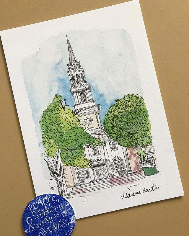 This new print of @tcuchapel will be available for the first time during Arts Goggle on Saturday, October 19th from 12-10pm!  There will be nearly 900 artists, so many bands and good eats!  #fortworth #fortworthartist #shopfortworthlocals #nearsouthside #fortworthlocals