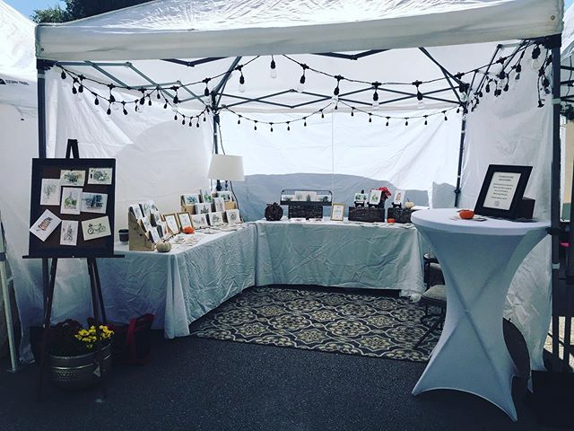 It's the obligatory set-up shot!  It's Arts Goggle time!  Come see us from now until 10 pm at the corner of Magnolia and Lipscomb! #fortworth #fortworthlocals #fortworthartist #nearsouthside