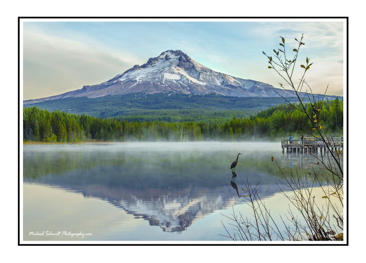 2014-10-11 Oregon Clackamas County Trillium Lake Sunrise-13